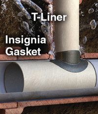 LMK's T-Liner®, which is a one-piece main to lateral connection system