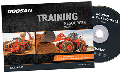 Doosan introduced its first safety training videos for heavy equipment owners,