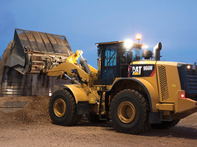 Caterpillar's 966M, 966M XE, 972M and 972M XE Wheel Loaders