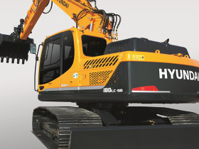 Hyundai has added three new mid-size excavator models, the R140LC-9A, R160LC-9A and the R180LC-9A,.