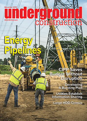 Underground Construction magazine November 2015