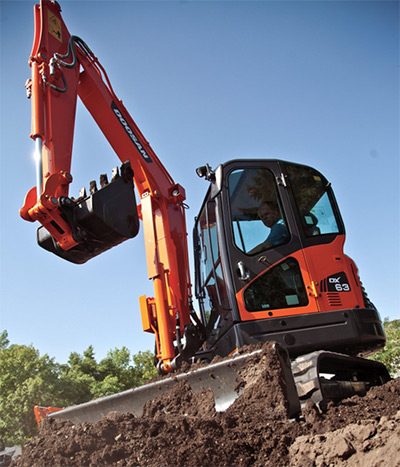 The new Tier 4-compliant Doosan DX63-3 and DX85R-3 excavators have been upgraded with a number of conveniences that provide operators with higher-precision controls, greater force and overall enhanced productivity.