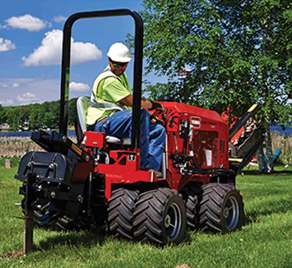 The Toro Pro Sneak 365 Vibratory Plow delivers powerful plowing in a compact, maneuverable package