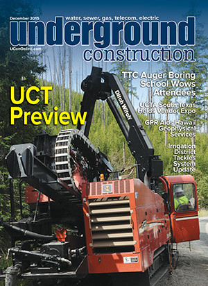 December 2015 Underground Construction Magazine