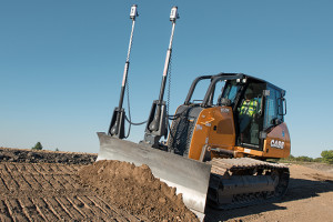 The CASE Construction Equipment 850M dozer