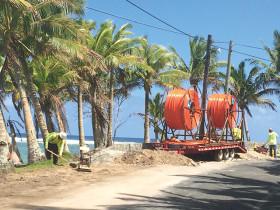 American Samoa fiber optic network