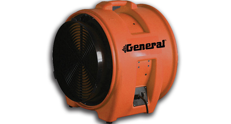 General Equipment improved ventilation blower