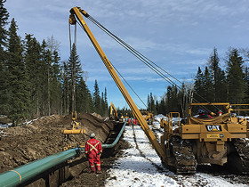 Pipeline Machinery 71H pipelayer