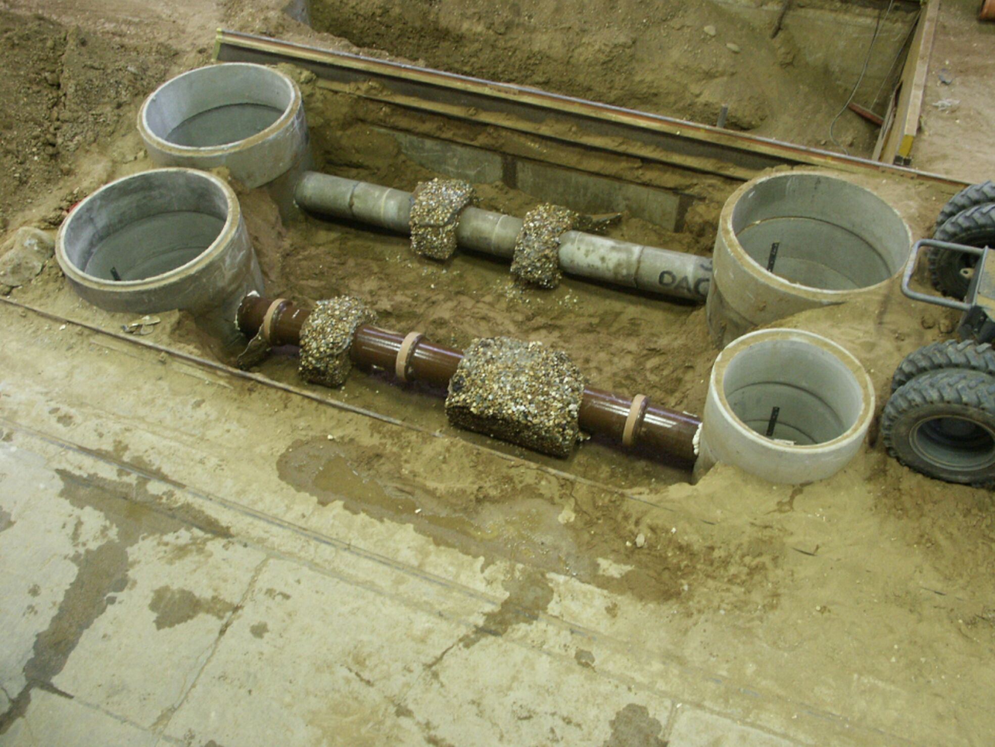 New Injection Process Seals Leaking Sewer Pipe Joints