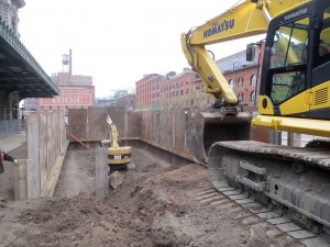 Massive Excavation Project Required No Vibrations From