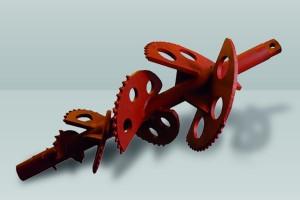 Underground horizontal boring machine. Portamole TM5 and ... |Underground Boring Bits